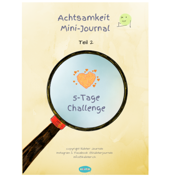 Achtsamkeit Mini-Journal